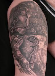 vietnam troopers stéphane chaudesaigues tattoo tatouage paris