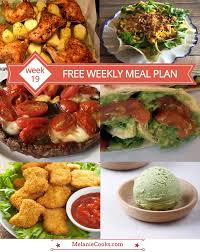 Free Dinner Ideas Free Weekly Menu Plan Week 19 U2013 Easy Recipes And Dinner Ideas