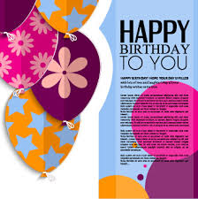 birthday greeting card vector free vector 13 327 free