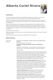 Marketing Director Resume Samples by Business Unit Manager Resume Samples Visualcv Resume Samples