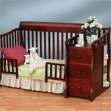 What Is A Convertible Crib Sorelle Tuscany 4 In 1 Convertible Crib And Changer Combo