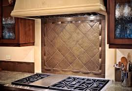 kitchen stove backsplash bronze tile backsplash stove traditional kitchen other
