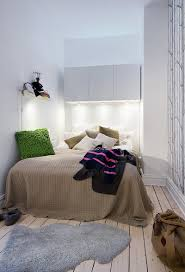 wondrous small bedroom decorating interior using grey bedding