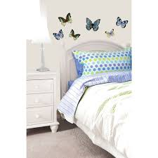 home decor 3d stickers 3d butterfly wall sticker silver home accessories b m