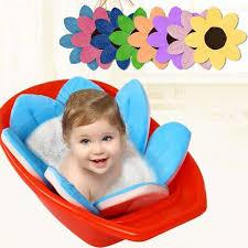 lotus flower foldable baby bath cushion u2013 baby of the house