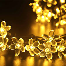 Solar White Christmas Lights by String Christmas Lights On Outdoor Trees Christmas Lights Decoration