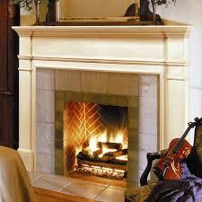 Wood Fireplace Surround Kits by Pearl Mantels Windsor Wood Fireplace Mantel Surround Hayneedle