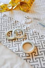 How To Sew Grommet Curtains With Lining No Sew Fully Lined U0026 Grommeted Window Curtain Panels Blackout