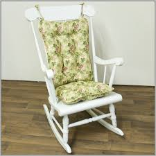 Rocking Chair Pad Rocking Chair Cushions With Arm Pads Chairs Home Design Ideas