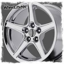 mustang replica wheels 18 x9 inch chrome ford mustang saleen oe factory replica wheels