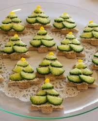 christmas tea party cucumber christmas tree sandwiches from melt simple cooking