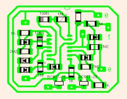 layout pcb inverter suneater v