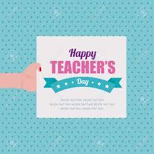 Invitation Card Design For Teachers Day Teacher Day Card Stock Photos Royalty Free Teacher Day Card