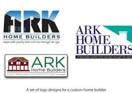 home builder logo design logos marc engle