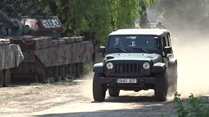 jeep j8 truck military jeep j8 test preview in romania youtube