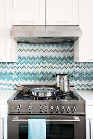 white kitchen with backsplash trend 20 tasteful ways to add stripes to your kitchen