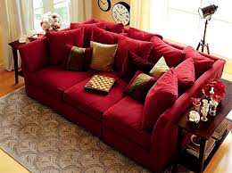 Red Sofa Sectional Le Canapé Se Fait Géant Oversized Couch Sectional Couches And