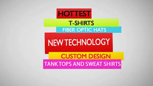 custom light up t shirts create custom light up clothing promotional t shirts youtube