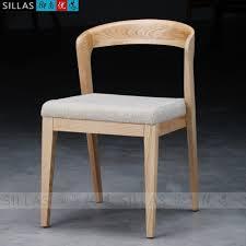 scandinavian furniture japanese white oak wood chair scandinavian modern style dining
