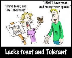 lacks toast and tolerant