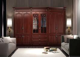 Cherry Computer Armoire Armoire Solid Wood Armoires Furniture Wardrobe Unfinished S