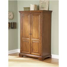 Modern Computer Armoire by Armoire Solid Wood Secretary Style Computer Armoire Workstation