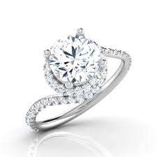 engagement rings india spiral solitaire ring jewellery india online caratlane