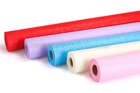 nonwoven packing material packing paper wrapping paper rolls