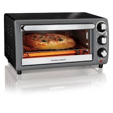 How A Toaster Oven Works Hamilton Beach Toaster Oven In Charcoal Model 31148 Walmart Com