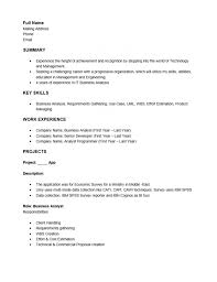business analyst resume word template 28 images business