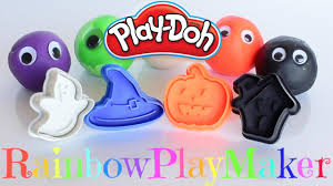 halloween play doh modeling clay cookie cutters witch hat