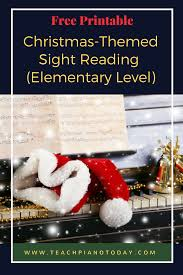 a christmas sight reading expansion pack student learning