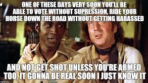 Soon Horse Meme - bart and jim blazing saddles latest memes imgflip