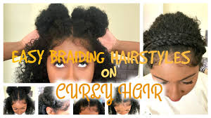 short to medium length hairstyles for curly hair easy braiding hairstyles on curly hair short medium length youtube