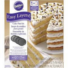 wilton halloween cake pans easy layers 8 inch round cake pan set wilton