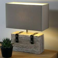 table lamp rectangular crystal table lamps lamp shades wooden