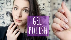 diy how to do gel nails at home with nail decorations youtube