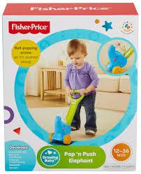 fisher price growing baby pop u0027n push elephant walmart com
