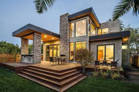 Amazing Stone House Designs To Modern House Stone Exterior Designs - Exterior modern home design
