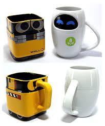 disney pixar wall e and eve mug gift set disney fun disney