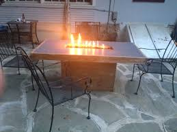 handmade concrete fire table by murrcrete designs custommade com