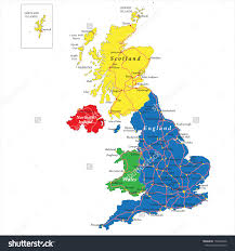 England Blank Map by Partywithorangecounty
