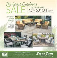 The Great Outdoors Patio Furniture Esprit Decor Home Furnishings