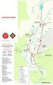 Jackson Hole Wyoming Map Friends Of Pathways Jackson Hole Wyoming