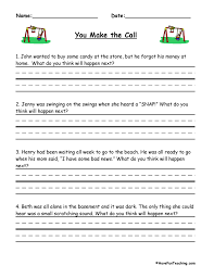 you make the call inferences worksheet have fun teaching