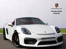 pistonheads porsche boxster used 2015 porsche boxster roadster spyder 2dr for sale in