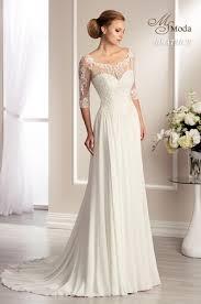 wedding dresses with sleeves uk wedding dresses with 3 4 sleeve allweddingdresses co uk