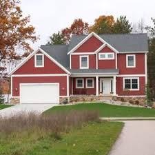 new home construction u2013 countrylane red dark beige house