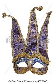 jester masquerade mask blue jester masquerade mask studio cutout stock photos search