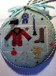 horse country chic a needlepoint christmas